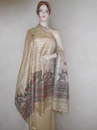 Tussar Desi Madhubani Dupatta