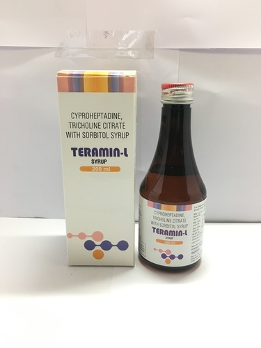 Cyproheptadine with Tricholine citrate Syrup