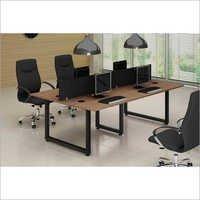 Modern Open Plan Office Desk