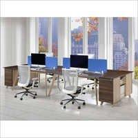 Stylish Open Plan Office Desk