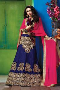 Heavy Embroidery Designer Lehenga