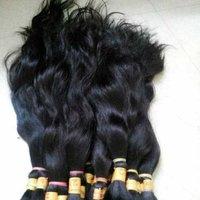 Bulk Remy wavy hair