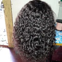 Curly hair wig extension