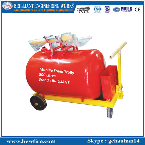Mobile Foam Trolly 500 Litres