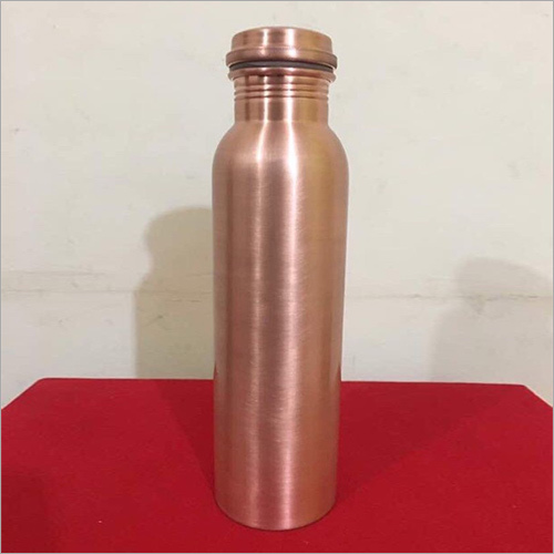 Copper Jointless Matt Finish Coated Liquor Bottle