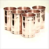 Copper Silver Touch Glass
