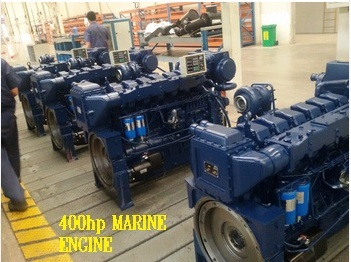 MARINE ENGINE 400 hp