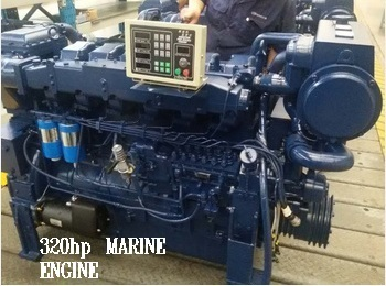 MARINE ENGINE 320 hp
