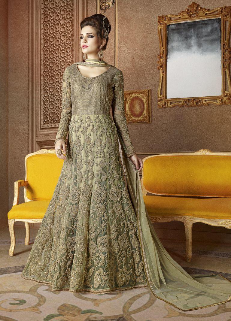 Heavy Anarkali Designer Suit