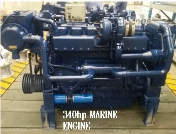 MARINE ENGINE 340 hp