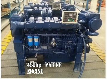 MARINE ENGINE 450 hp