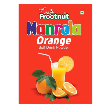 Soft Drink Orange Powder