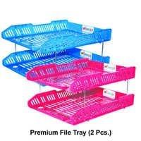 Plastic Premium File Tray (2 pc. Box)