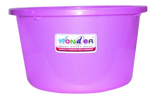 WONDER PASTIC TUB 22 SOLID COLOUR