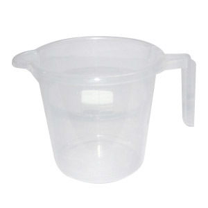 PLASTIC MUG WITH MEASUREMENT MEASURE SMALL