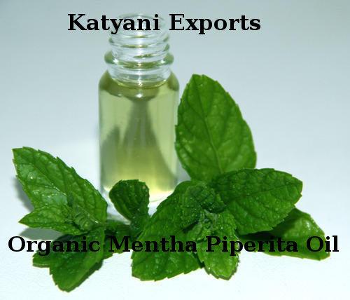 Organic Mentha Piperita Oil