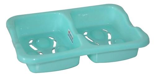 WONDER PLASTIC SOAP DISH BEAUTY DOUBLE