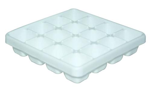 WONDER PLASTIC SQUARE ICE TRAY 160 3PC SET