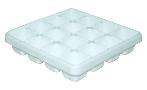 PLASTIC SQUARE ICE TRAY 160