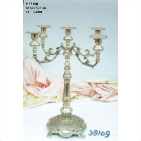 Pedis Aluminum Candle Stand
