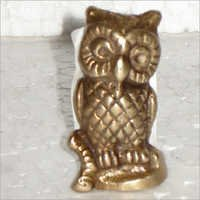 Decorative Brass Owl Figure