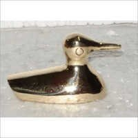 Decorative Brass Swan Figurine