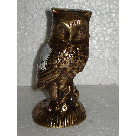 Home Decor Brass Owl