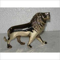 Decorative Brass Lion Figurine