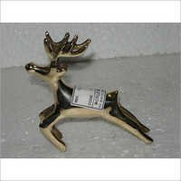Decorative Brass Deer Figurine