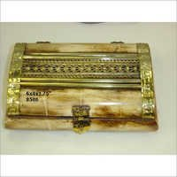 Metal Decorative Bone Box