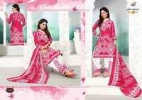 COTTON PRINTED DRESS MATERIALS NANDGOPAL PRINTS MANGOES