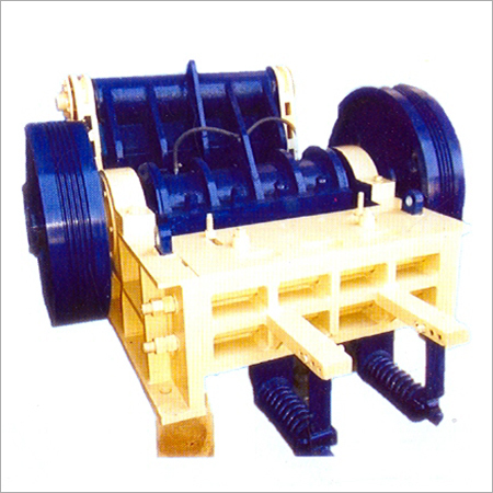 Double Toggle Grease Type Crusher