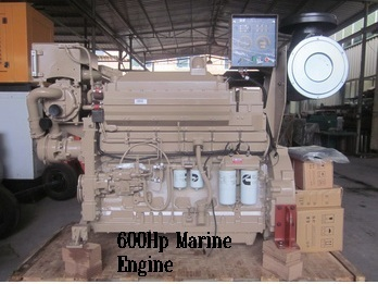Marine Engine 600 Hp