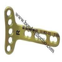 Orthopaedic Implants Manufacturer VOLAR Plates LCP Distal Radius Plate 2.4 R L Extra Articular