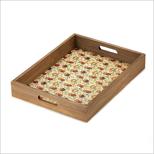 Carefree Stackable Plain Service Tray