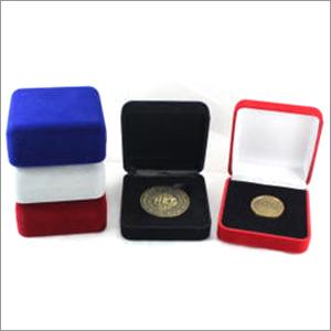 Velvet Flocked Coin Boxes
