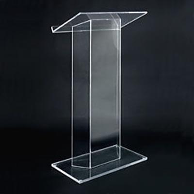 Acrylic Transparent Podium Stand