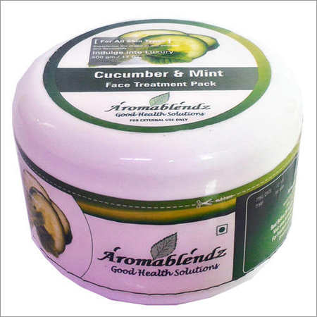 Aromablendz Cucumber and Mint Face Treatment Pack