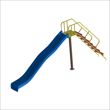 5' Ht Frp Wave Slide