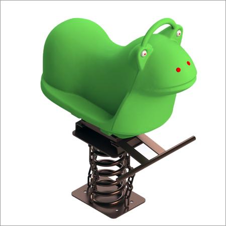 Spring Rider Frog