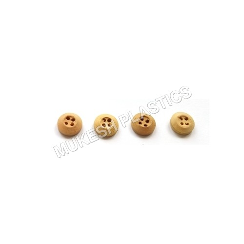 Fancy 4 Hole Wooden Button