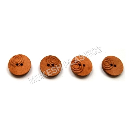 Facny Natural Color Wooden Buttons