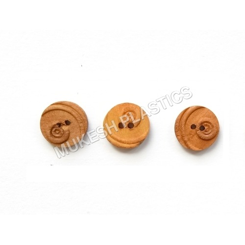 Natural Color Wooden Buttons