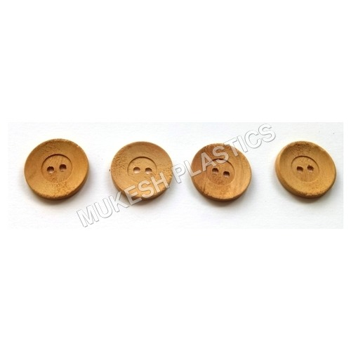 Wooden Button for Craft
