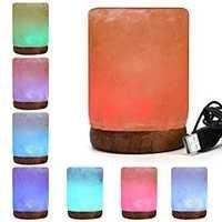 Cylinder Usb Salt Lamp