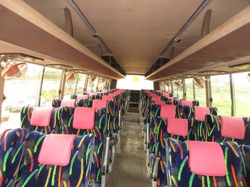 G-Stroke Bus Inner View