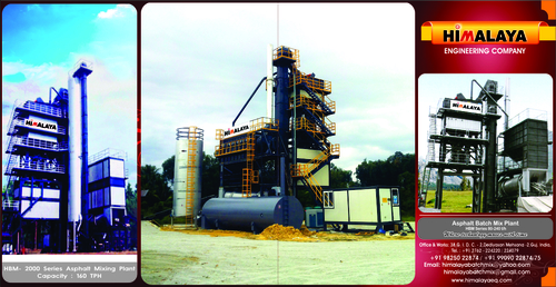Asphalt Batch Mixer Plant
