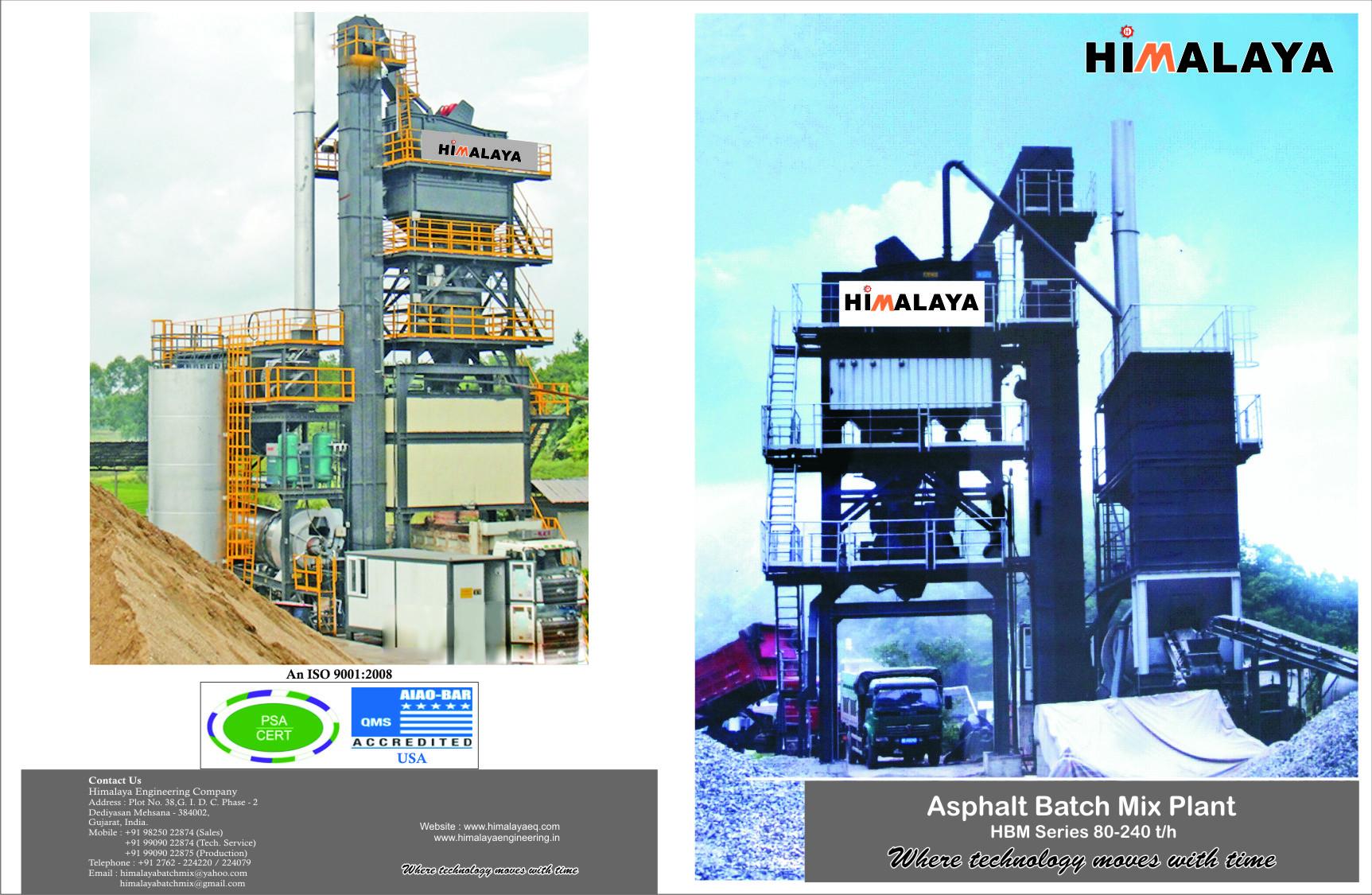 Asphalt Batch Mixer Plant
