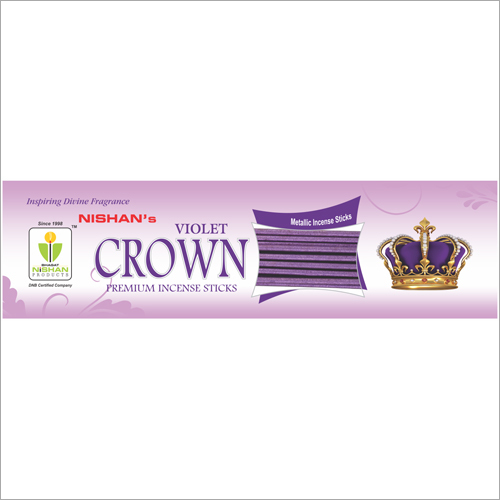 Violet Crown Premium Incense Sticks Pouch Pack