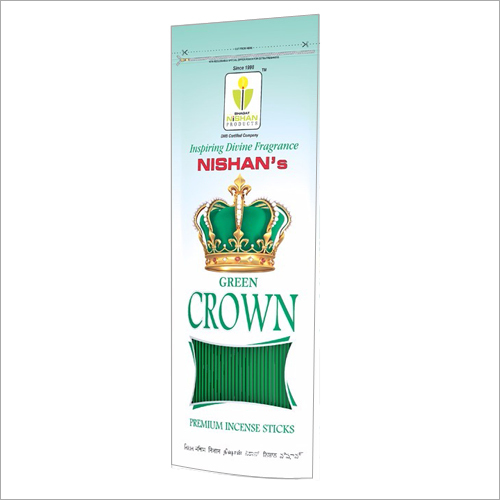 Green Crown Premium Incense Sticks